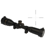 3-9x50EG AOGL Red/Green Illuminated Riflescope 1'' 1/4AOM With Angled Integral Sunshade