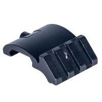 Y0075 Tactical 3 Slot One Side 45 Degree Angle Offset 20mm Rail Mount for Weaverer Picatinny Rail Ac