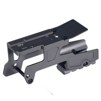 ALG Defense 6 Second - Red Dot Sight Optics Scope Mount For Pistol Gen3 Glock 17 18C 22 24 31 34 35