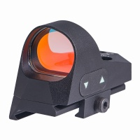 ANS Tactical1x25 Mini Reflex Sight Dot Reticle Red Dot Sight Scope Picatinny QD Mount for Hunting BK