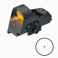 ANS Tactical1x25 Mini Reflex Sight Dot Reticle Red Dot Sight Scope Picatinny QD Mount for Hunting Gr