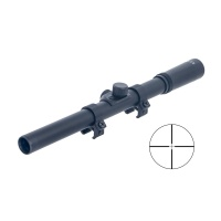 Tactical 4x15 Rimfire & Air Rifle Scope free mounting Rings for Hunting