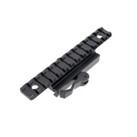 Tactical 20MM Quick Release Mount Adapter 13 Slots Fit 20mm Picatinny Weaver Rail Base Hunting  Accessories