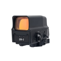 Optics AMG UH-1 Holographic Sight 1x 1 MOA Dot with Integral Weaver/Picatinny-Style Mount Matte