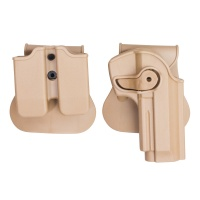 Polymer Retention Paddle Holster for Taurus PT92 M92