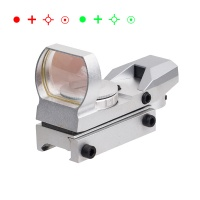 Red Dot Sight 1X22X33mm  4 Reticles Red Green Dot Gun Sight Scope Reflex Sights
