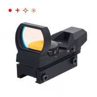 1X22X33mm Red Dot Sight 4 Reticles Red Dot Gun Sight Scope Reflex Sights BK