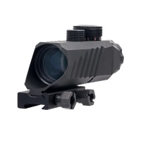 3X30 Prism Scope with Illuminated Red Green Center Dot Reticle