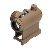 1X24 Red Green Dot Sight with Quick Release Mount TAN