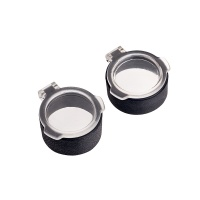 40mm Flip-Up Riflescope Lens Covers - Clear