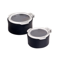 50mm Flip-Up Riflescope Lens Covers - Clear