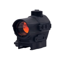 D10 Red Dot Sight 1.5 MOA Manual Key Switch with 20mm Riser Mount Rifle Scope