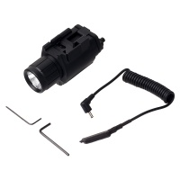 New Tactical M6 Flashlight Red Laser with Screw-on battery compartment  20mm Picatinny Rails