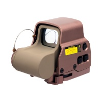558 Red Dot Tactical Holographic Sight Weapon MOA Riflescope  TAN