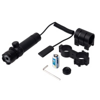 Tactical red laser dot outside adjusted riflescope sight with 2 mounts