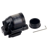 Solar Sealed Reflex Sight  Red Dot with Quick Release Flattop Mount