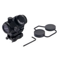 1X20 Red Green Dot Sight 3 MOA with Super Slim Riser Mount