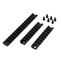 Hunting Accessories G36 3 pieces Long Picatinny Rail 20mm Base Mount Set(3pcs Set)