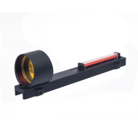 1x25 Fiber Red Dot Sight For Shotguns Rib