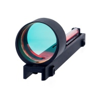 1x25 Red Fiber Red Dot Sight Scope Holographic Sight Fit Shotgun Rib Rail for Hunting Shooting