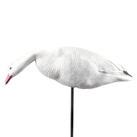 Wholesale soft EVA foam folding snow goose decoys for hunting or garden decoration
