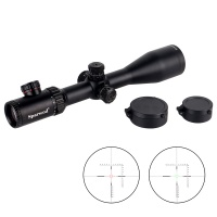 Sparwod SF4-24x50E Riflescope illuminated Red/Green Rifle scope 1/2MIL 30MM Tube