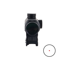 1x25 Prism Red Dot Scope 0.5MOA Parallax Free