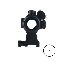 1x29 Red Dot Sight With Red Laser
