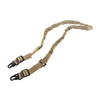 Tactical Two Point Bungee Sling with Quick-release Metal Hook for Rifle Shotgun