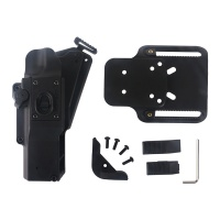 Tactical Rapid Holster Weapon Pistol Holster for XH15/XH35/X300UH-B Flashlight