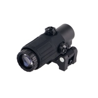 3x Magnifier scopes riflescope with Flip to Side QD Mount