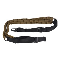 Paracord Rifle/Shotgun Tactical Single Point Sling with Quick Release Metal Hook