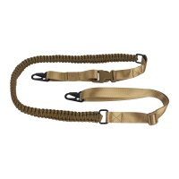 Paracord Rifle/Shotgun 2 Point Tactical Sling with Quick Release Metal Hooks