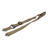 Multi-Mission Single 2 Point Adjustable Sling with Dual QD Swivels