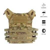 Tactical Assault Airsoft Vest MOLLE  Plate Carrier Black