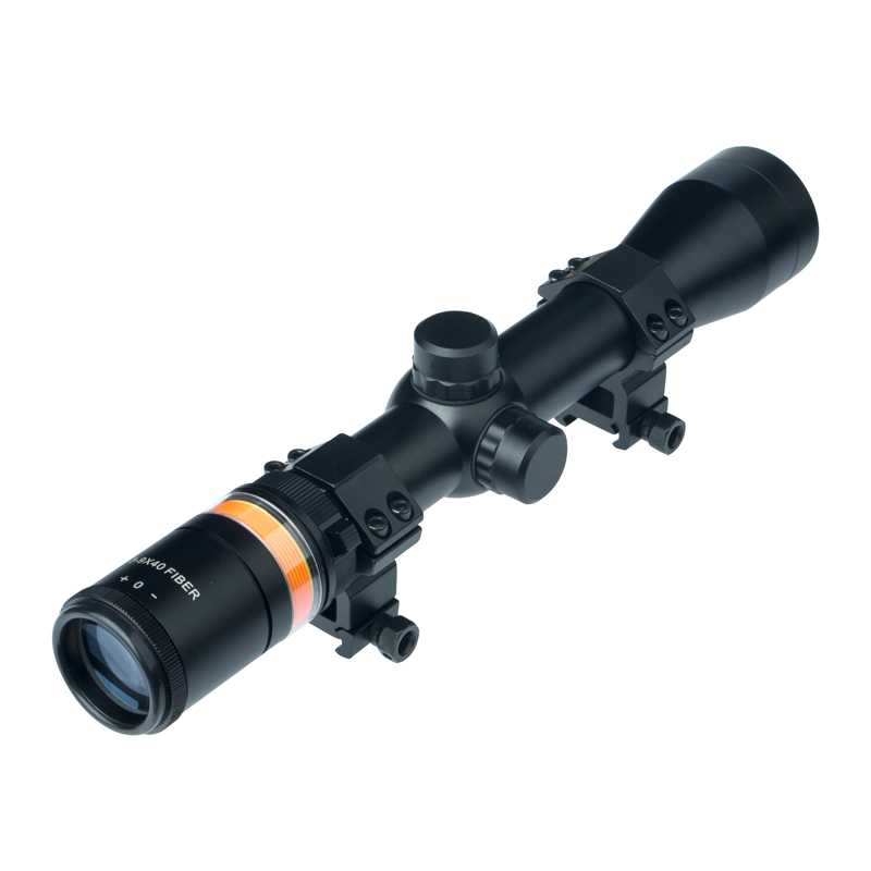 ANS 3-9x40 Riflescope Fiber Optic with Triangle-Post Reticle